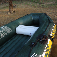 air cushion inflatable boat camping pvc seat thick big valve fishing boat big valve outdoor camping rest deflatable foldable