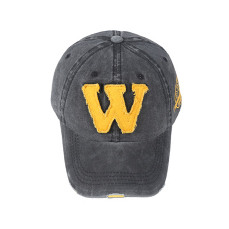 Spring Cotton Caps Baseball Cap Hats Summer Letter Embroidery Vintage Adjustable Fashionable Caps Hats Unisex 2019 New Wholesale in Men 39 s Visors from Apparel Accessories