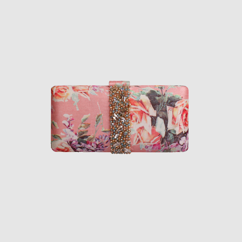 все цены на LOCAL FOCAL Handmade pink party handbag clutch