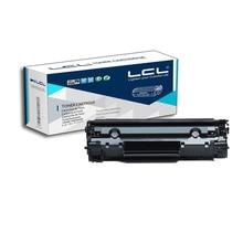 LCL CF283A 83A 83 CF283 283A CF 283 A (1-pack) negro 1500 páginas cartucho de toner compatible para hp laserjet pro mfp m127fn/fw