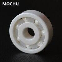 Free Shipping 1PCS 6801 61801 Ceramic Bearing 6801CE 12x21x5 Ceramic Ball Bearing Non Magnetic Insulating Thin