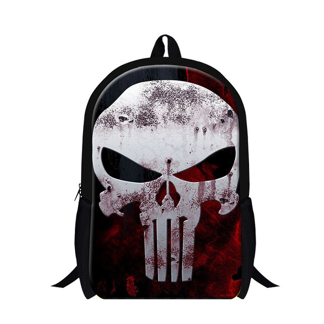 Aliexpress.com : Buy Latest Skull Backpack for Cool High School ...