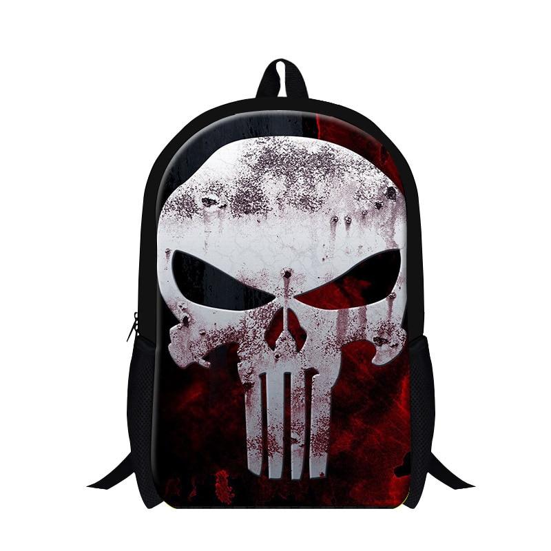 7ddcdff8b6913 Serin için son Kafatası Sırt Çantası Lise Öğrencileri, Gençlik geri paketi kızlar  mochila, serin okul çantalarını için boys, erkek hafif çanta