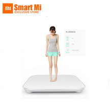 Original free shipping Xiaomi smart household scales Original mi weight Digital scale For Android 4.4 iOS7.0 Above White