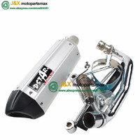 EXHAUST SCOOTER SILENCAR MOTORCYCLE EXHAUST GY6 125 GY6 150 SCOOTER PARTS MOTORCYCLE MUFFLER