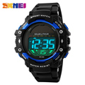 SKMEI Outdoor Sports Watches Men New Power Solar LED Digital Wristwatches Clock 50M Waterproof Shock Watch 1129