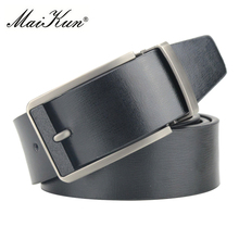 High Quality Genuine Leather Belts for Men Luxury Brand Strap Male Belt for Man Vintage Pin Buckle Belt(China)