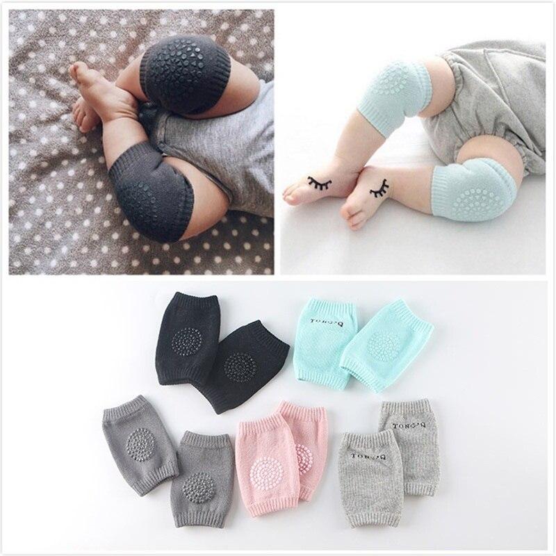Sommer Kinder Anti Slip Kriechen Notwendig Krabbeln Schutz Kinder Kniescheiben Babys Leggings Baby Kurze Knie Pads Beinlinge Gang Beinlinge
