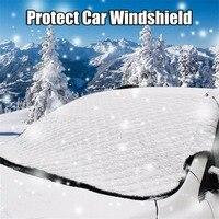 Универсальный автомобильный внедорожник лобовое стекло снежного покрова Frost козырек от солнца защитный щит лобовое стекло толще крышка Водонепроницаемый пыли