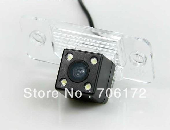4 LED nightvision Car Rear View Camera for PORSCHE CAYENNE VW SKODA FABIA/SANTANA/POLO(3C)/TIGUAN/TOUAREG/PASSAT/Golf V Variant