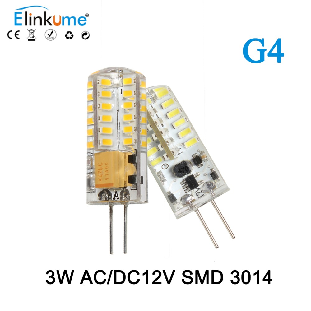 5Pcs/lot G4 LED Light Bulb 3W g4 s