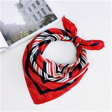 Women small square scarf/ Fashion handkerchief with beautiful print/ Many different colours