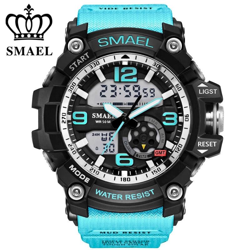 SMAEL αναλογικό-ψηφιακό ρολόι ανδρών - Ανδρικά ρολόγια - Φωτογραφία 3