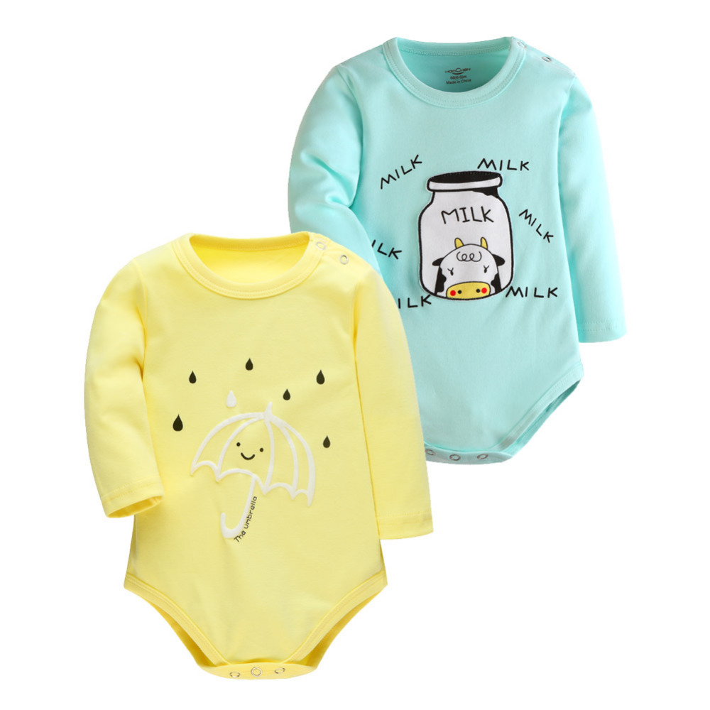 2 Pcs/lot 2016 New Fashion Baby Boys Clothes Body Cartoon Rompers Baby Romper Baby Clothing Newborn Baby Cothes Boy Girl's Wear цена