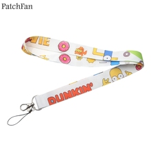 Lanyard Webbing Ribbon Keychain Neck-Strap Para Patchfan A1480 Keyring Phone-Holders
