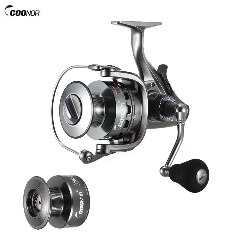 COONOR Fishing Spinning Reel 10 1BB Ball Bearing Drag Front and Rear Drag 4 3 1