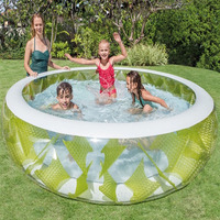 Ultralarge 229*56CM Family Inflatable Pool Zwembad Basen Kids Pool Piscine Swimming Pool Piscina With Pump