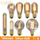 Edison Bulb E27 220V 40W ST64 G95 Retro Lamp filament Bulb edison lamp Incandescent Light bulb ampoule vintage Lamp For decor