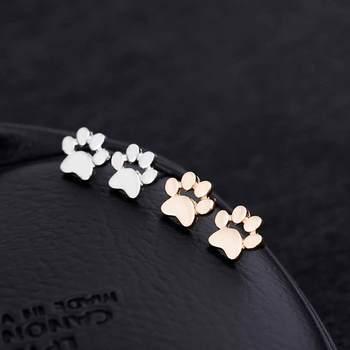 Dog  Cute Paw Earrings 2