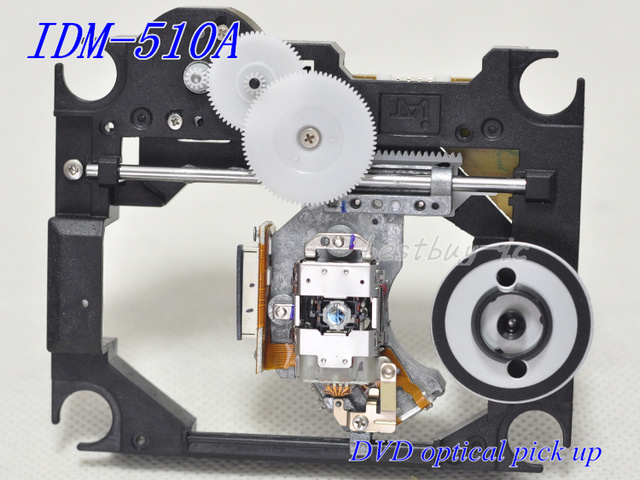 Original  dvd laser head (IDP-200A WITH plastic MECHANISM) IDM-510A (IDM510A/IDP200A)  IDP 200A    IDM 510A