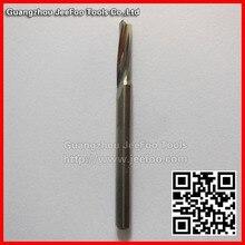 3.175*12 precisão brocas de carboneto de tungstênio para o corte de alumínio/de alumínio de corte bits