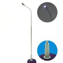 Teraysun 1/200 scale architectural model Metal copper Street Lamps Modelmaking LED Lights Lamppost Model Railway Light