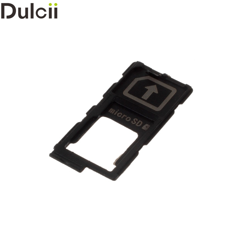 Dulcii Mobile Phone Parts for Sony Xperia Z 5 OEM SIM/Micro SD Card Tray Holder Replacement for Sony Xperia Z5/Z5 Premium