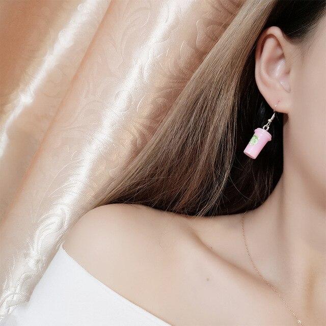 Coffee Earrings 1