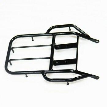 Black Rear Tool Luggage Rack Back Bracket Carrier For Honda XR250 XR400 1996-04