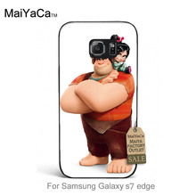 Luxury High-end phone Accessories Wreck It Ralph fashion For case GALAXY s7 edge