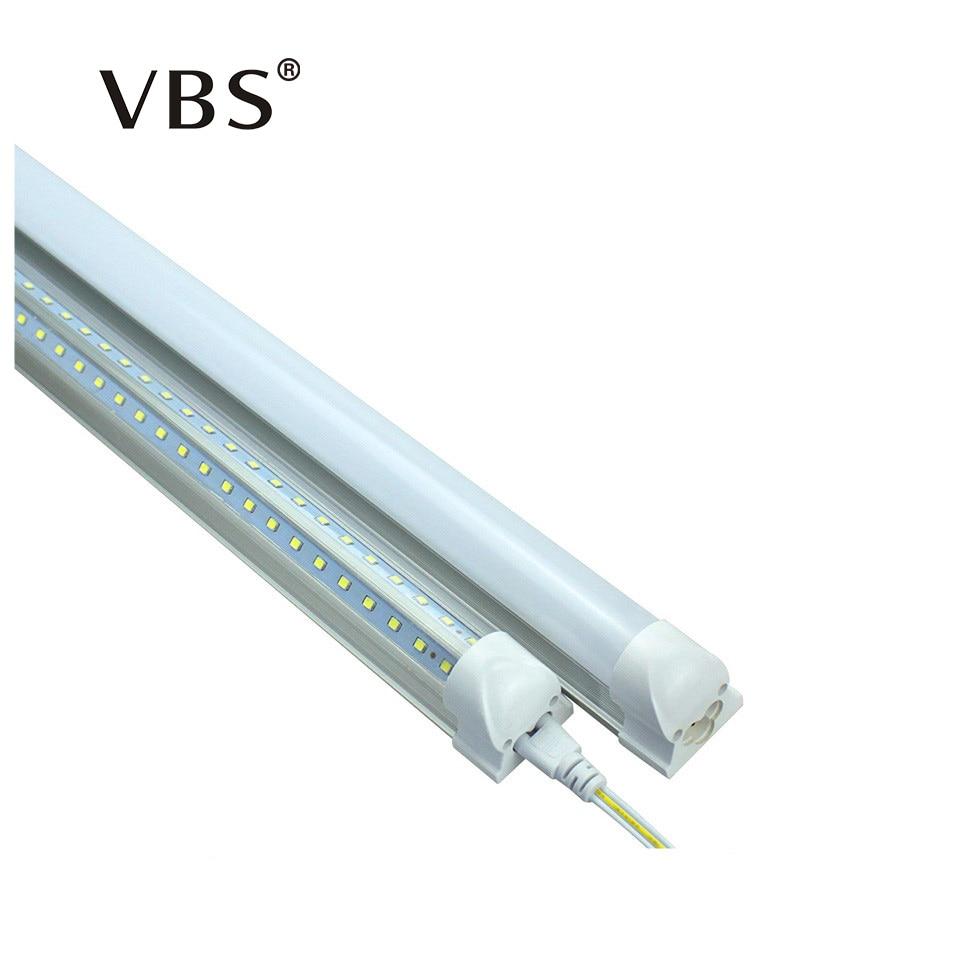 V-Shape LED Bulbs Tubes T8 600mm 20W 2 Feet Led Integrated Tube Light 2FT AC85-265V 96LEDs SMD2835 LED Light Super Bright 2000lm