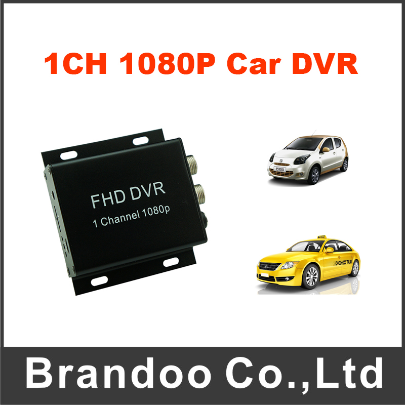 1 channel 1080P Full HD mobile DVR support 128GB SD card