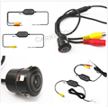 Auto Parktronic 2.4Ghz Transmitter And Receiver Wireless Car Rear View Backup Rearview Reversing Camera For Mirror Monitor DVD