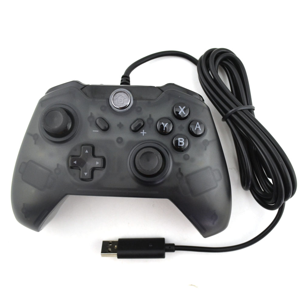 2pcs USB Wired game Controller Gamepad for PC For S-w-i-t-c-h Console