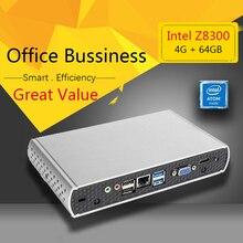 РГНС Q1 HTPC Intel ПРОЦЕССОРА Atom Z8300 4 ГБ 64 ГБ SSD HD Graphics 300 М WI-FI мини-пк windows компьютер