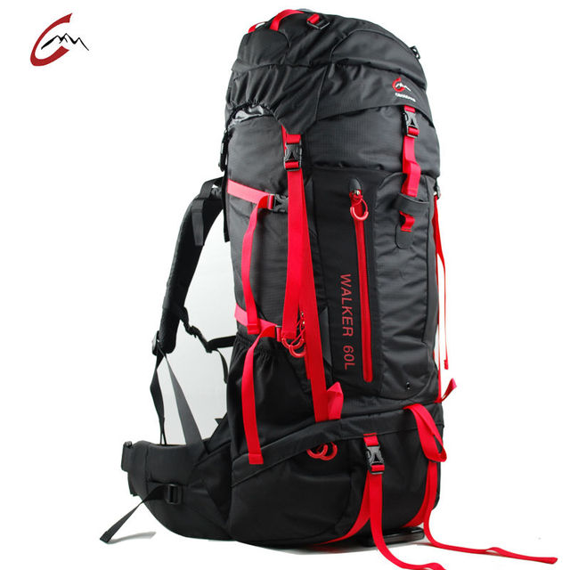 0caf5465731 cross top 60L Professional Climbing Camping Hiking Sports Backpacks Nlyon  Outdoor sports travel bag for women men
