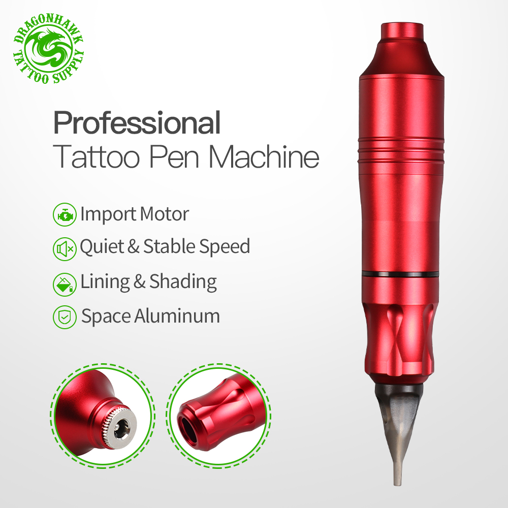 Tatouage rotatif Machine stylo Style ensemble tatouage Kit LCD puissance pédale tatouage approvisionnement livraison gratuite maquillage Permanent Machine assortiment - 2