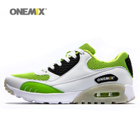 Onemix 2015 Men S Damping Trail Running Shoes Breathable Mesh Athletic Shoes Trail Racing Outdoor Sport