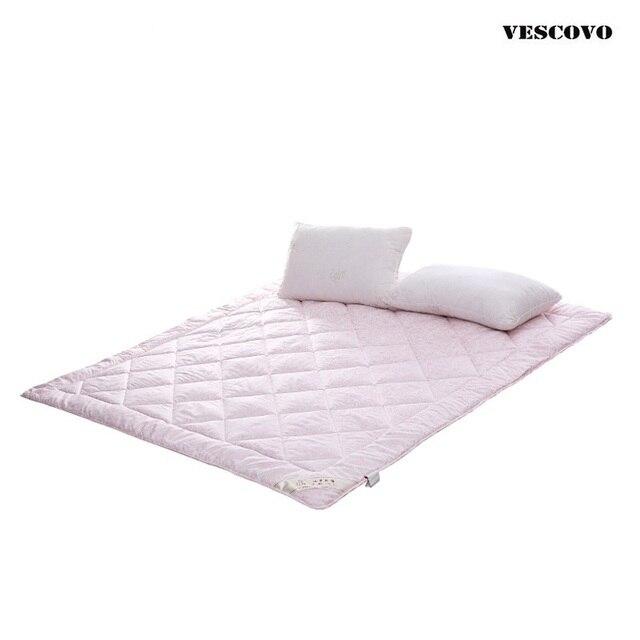غطاء مرتبة حرير مملوء 180 × 200 سم 600 جم حشوة حرير شحن مجاني