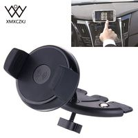 XMXCZKJ Car Charger Holder 360 Rotating Car Wireless Charger CD Slot Mount Holder For Samsung Galaxy