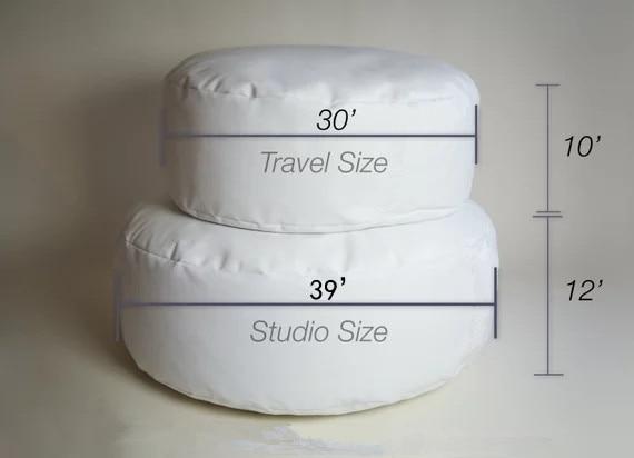Newborn Posing Pillow-Professional Studio Size Beanbag for Newborn Photographers, Baby Newborn Posing Beanbag