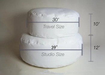 Newborn Posing Pillow-Professional Studio Size Beanbag for Newborn Photographers, Baby Newborn Posing Beanbag фото