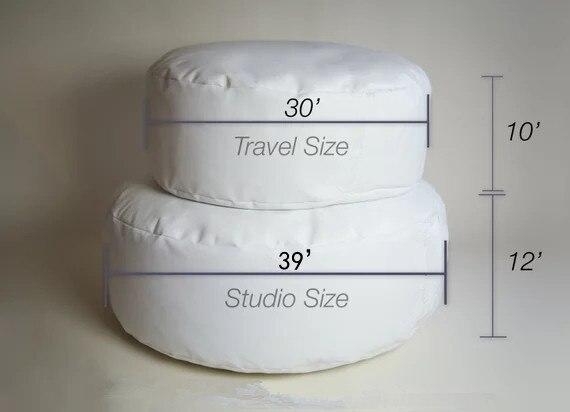 Nouveau-né posant oreiller-professionnel Studio taille pouf pour nouveau-né photographes, bébé nouveau-né posant pouf