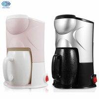 220V Coffee Maker Drip Type Semi Automatic Machine Cafe Americano Espresso Cafe Household Cappuccino Latte Maker