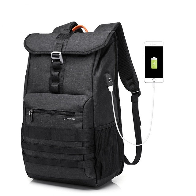 faa0fe8a5f TC-710 New Fashion Man double shoulder bag leisure Oxford backpack  Traveling Bag Student Computer