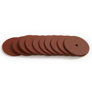 10x Moderate Rough Polishing Wheel Rubber Grinding Wheel For Metal Alloy Jewelry Mini Ultrathin Rotary Dremel Tools