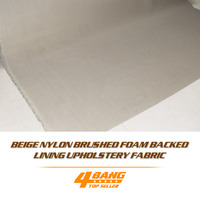 Headliner Fabric 157 X60 400cmx150cm Ceiling Roof Lining Light Beige Upholstery Auto For Volkswagen Ford BMW