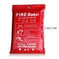 1 м х 1 м огнеупорное одеяло из стекловолокна огнеупорное аварийное спасательное белое огнеупорное покрывало для безопасности пожарное ава...