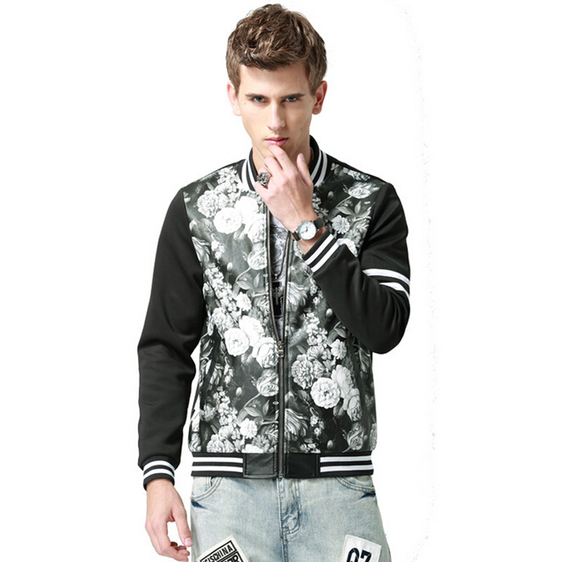 2016 High Quality Autumn Winter Men S Jacket Casual Slim Fit Men Jackets Mandarin Collar Coat