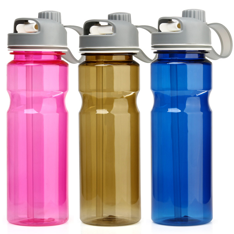 Water Bottle Uses: Drinking Water Bottles With Straw Straight Space Cups
